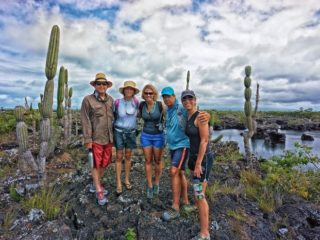 Chill Expeditions Team, Isabella, Galapagos.