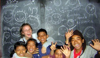 A Program to Volunteer Teach Overseas in India: Abigail