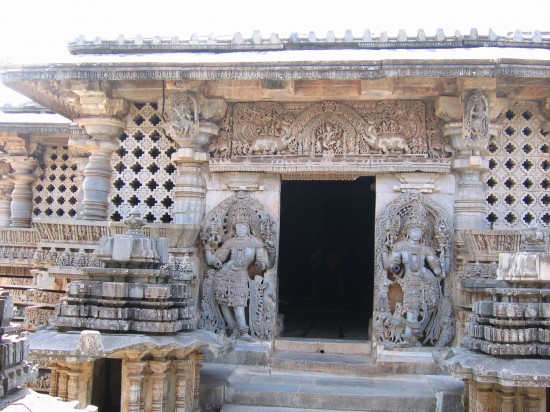 Halebeedu: A beautiful, ancient temple in India.
