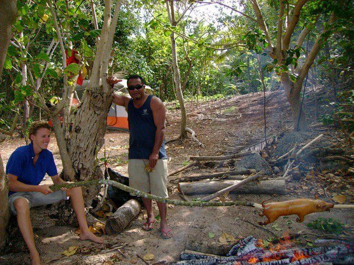 Kurt in Tonga: a standard day.
