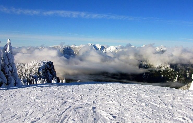 A favorite family skiing spot near Vancouver.
