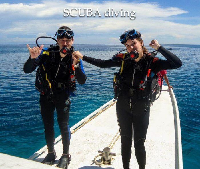 SCUBA diving in the Philippines. Fun!