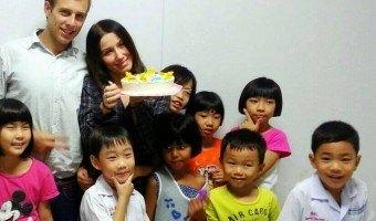 An Italian Ballet Teacher and ESL Instructor in Thailand