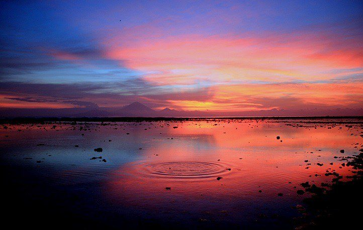 The best sunset of Klelia's life, taken by her at Gili Islands, Indonesia during her RTW trip.