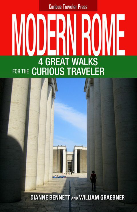 The cover of the couple's most recent guidebook on Rome.