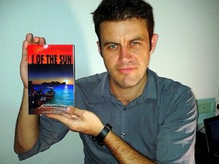 Richard with his book.