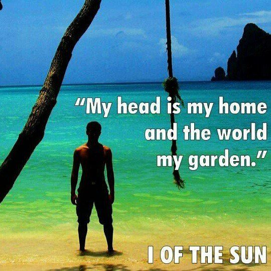 """A quote from """"I of the Sun."""""""