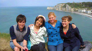 Etretat, France, one of Dana's favorite places in Normandy.