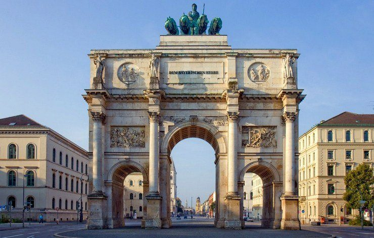 Germany's historical arches.
