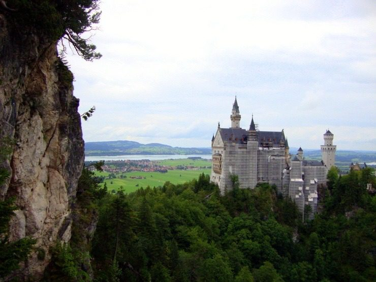 Mad Ludwig's Castle (Germany): The castle Disney used as inspiration for Snow White's Castle.