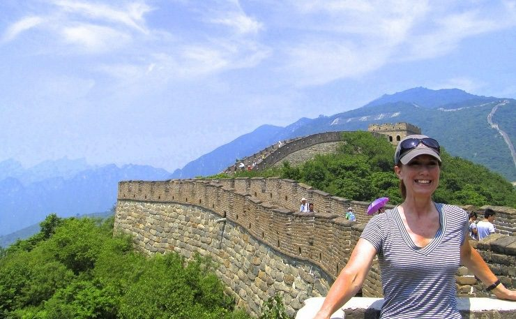 A day hike along the Great Wall from Mutianyu, where the guard towers are closer together than in other areas of China.
