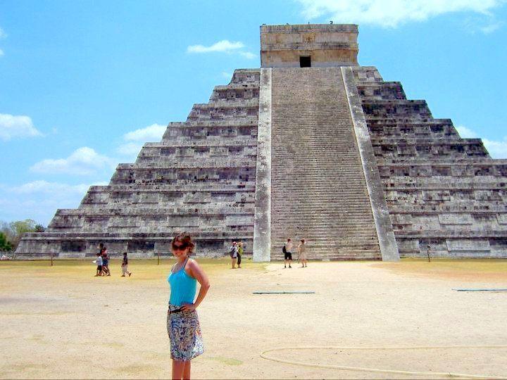 Chichen Itza ruins in Yucatan, Mexico inspire awe.