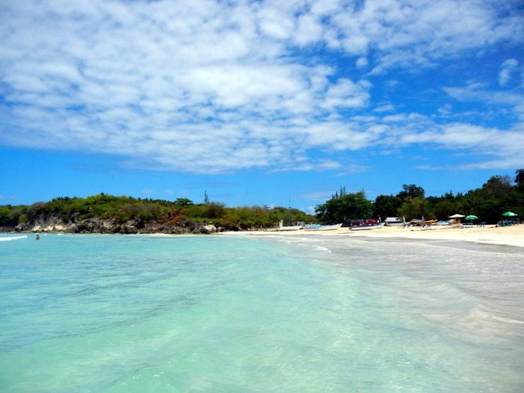 Amanda's favorite thing to do on vacation is hunt down tropical beaches. This one is Playa Macao in the Dominican Republic.
