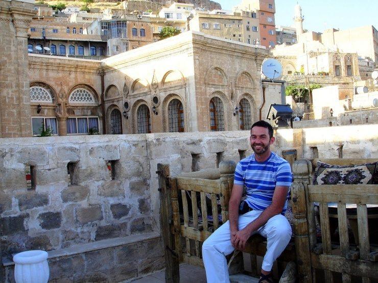 James in Mardin, Turkey.