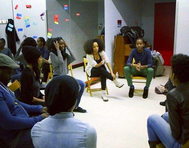 Shelah teaching STW, March 2014 in NYC.