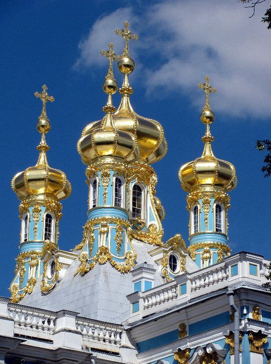 Catherine's Palace in St. Petersburg, Russia.