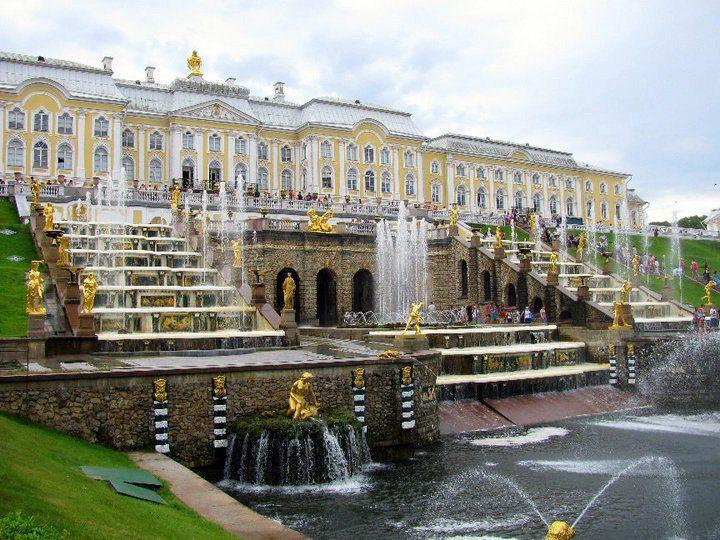 Peterhof in St. Petersburg, Russia.