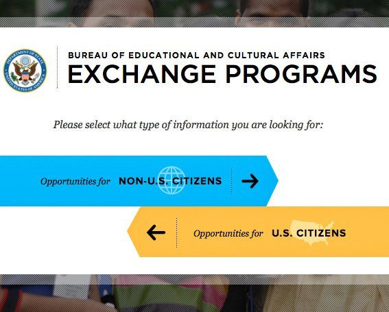 This site has travel exchanges for U.S. citizens and non-citizens!