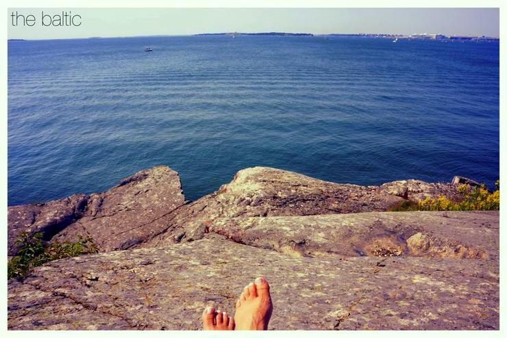 The beautiful Baltic Sea.