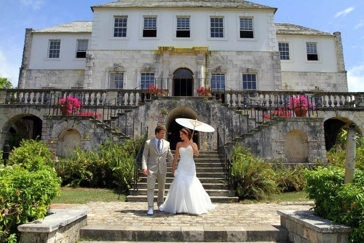 Kelly's destination wedding in Montego Bay, Jamaica, where she and her husband got to share their love of travel with friends and family.