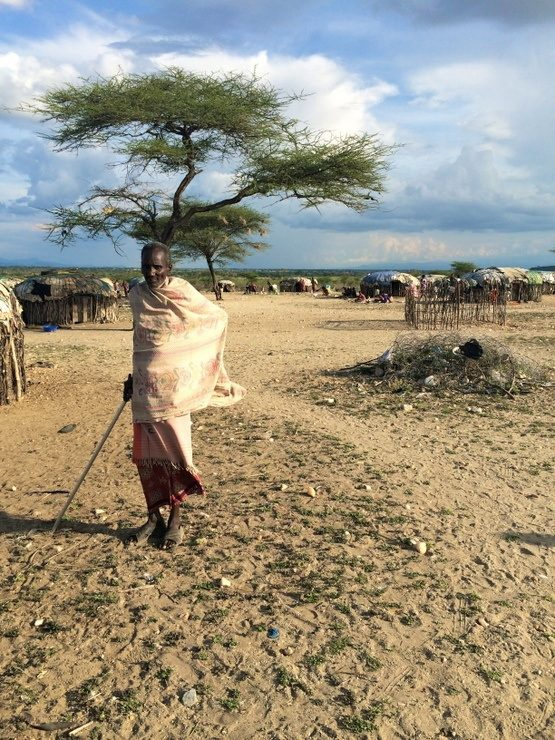 An elder from the Masai Mara tribe in Kenya.