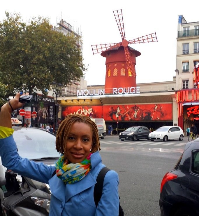 In Paris, France, at the Moulin Rouge.