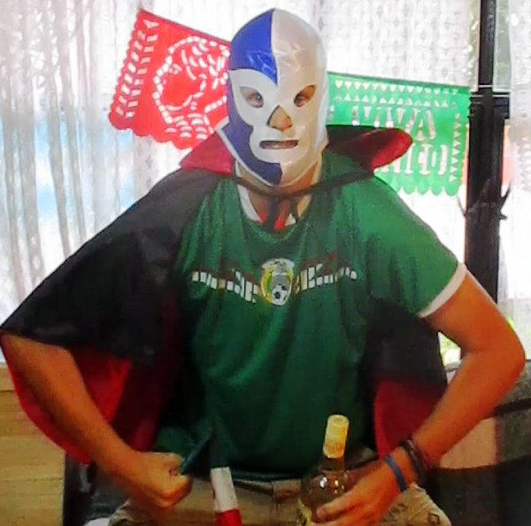Phil celebrating Mexican Independence.