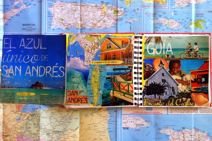 From Kate's travel sketchbook, which celebrates all the amazing places she visits.