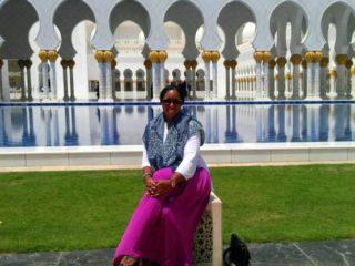 Nicole on a solo adventure to Abu Dhabi.