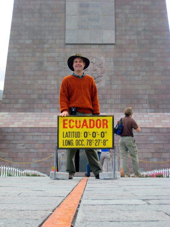 On the Equator!