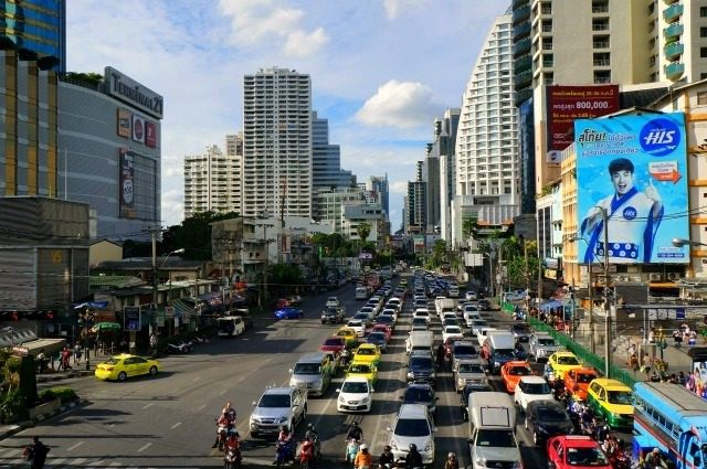 Downtown Bangkok!