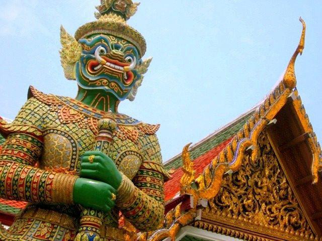 A visit to the Grand Palace in Bangkok.