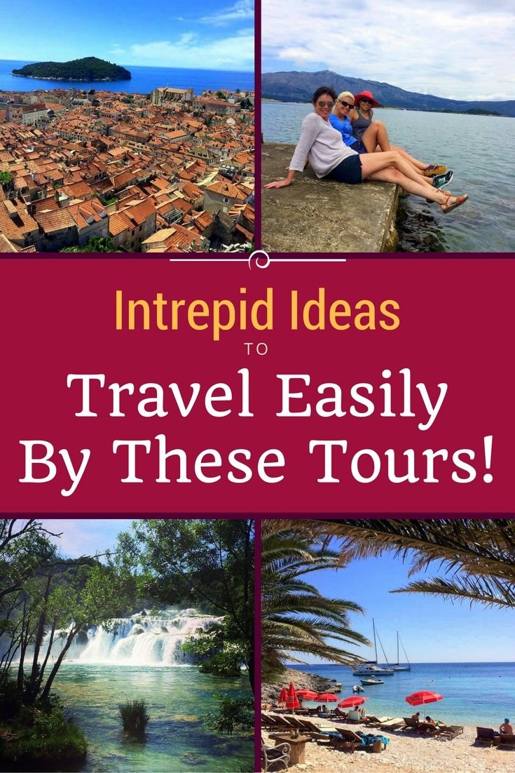 Travel anywhere easily and affordably with these Intrepid group tours!