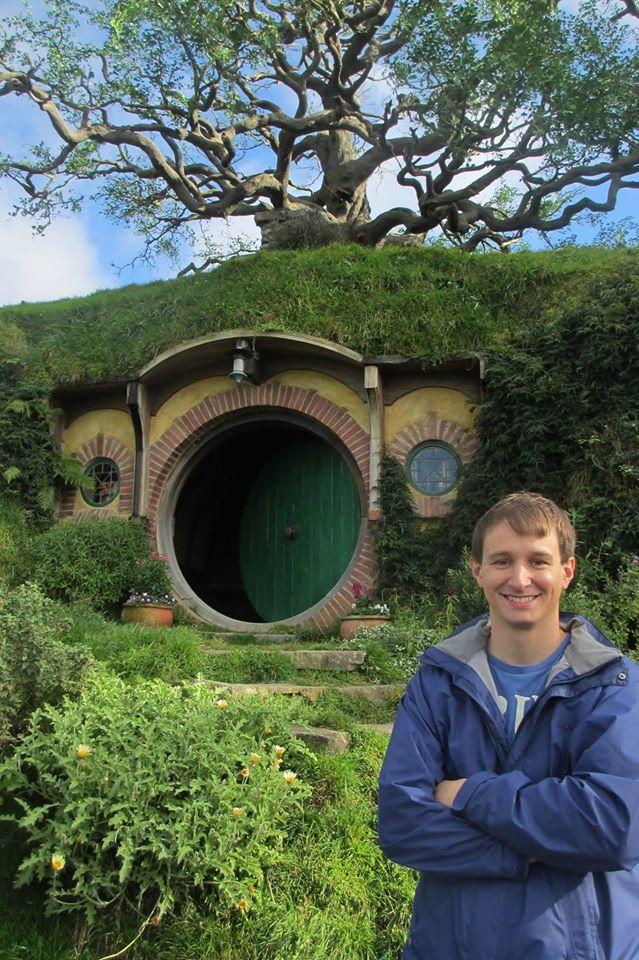 A Hobbit house!