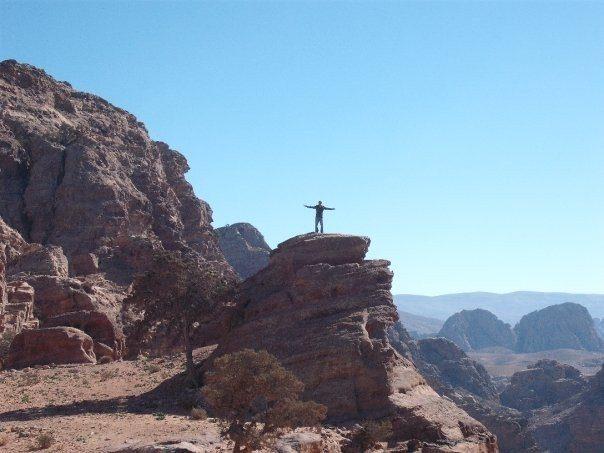 Travel makes teachers feel on top of the world!