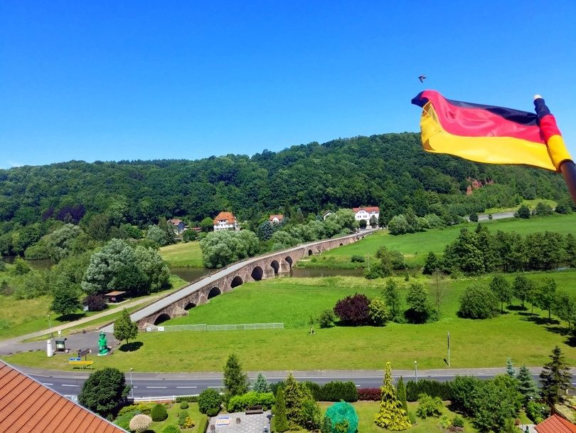 Vacha, Germany, as seen on Karen's study tour.