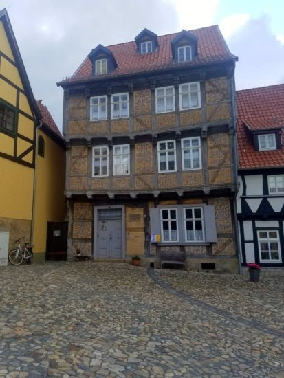 The lovely architecture of Quedlinburg, Germany.