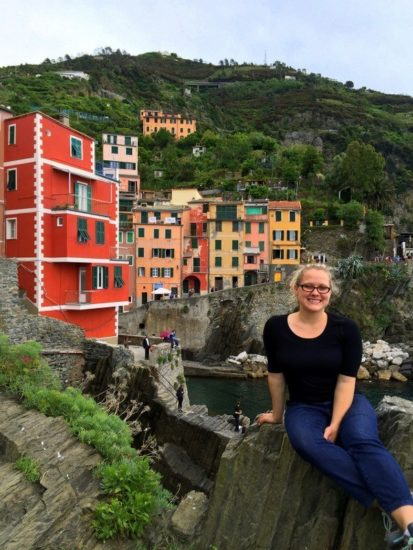 The colors of Cinque Terre, Italy.