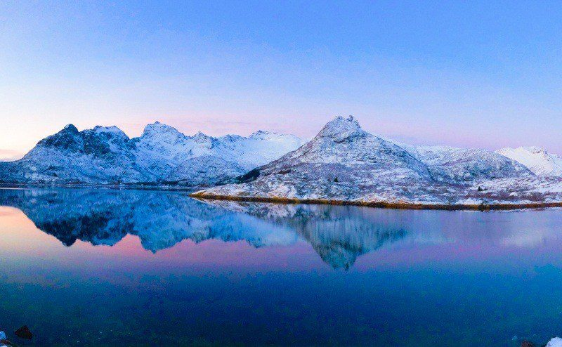 Scenery in Lofoten, Northern Norway. Wow!
