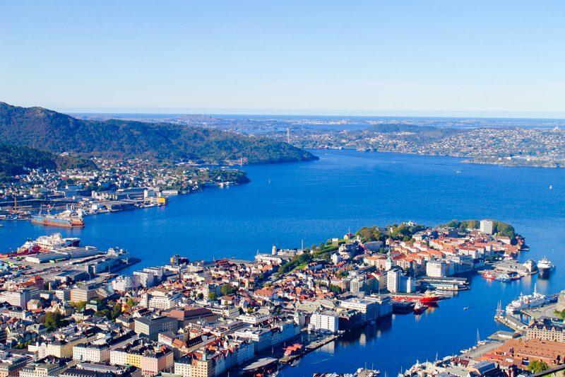 Gorgeous Bergen, Norway.