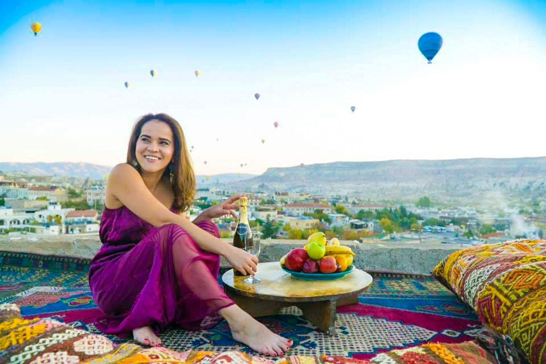 Founder of Latinas Who Travel, Olga Maria.