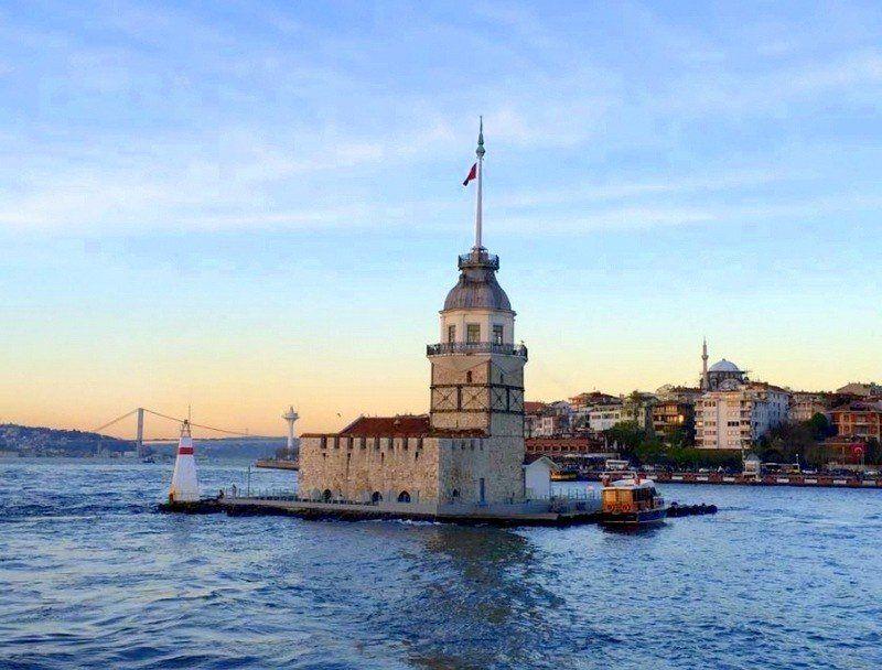 Kız Külesi, the Maiden's Tower, Istanbul.