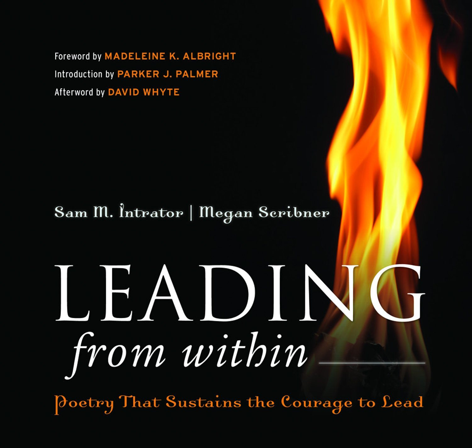 """The cover for """"Leading from Within."""""""