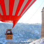 A Balloon ride over Cappadocia.