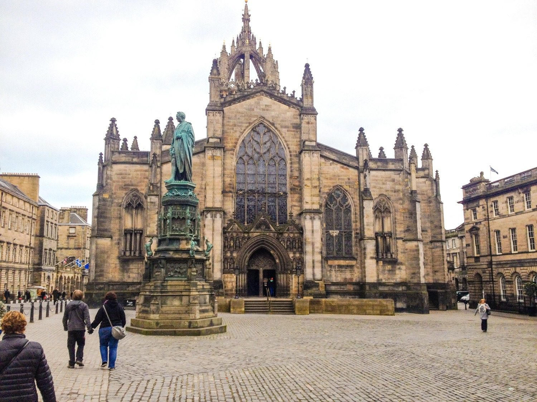 A side trip to Edinburgh, Scotland, Feb 2016.
