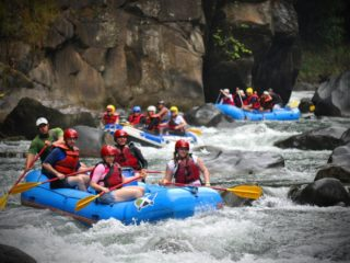 Would you go white water rafting?