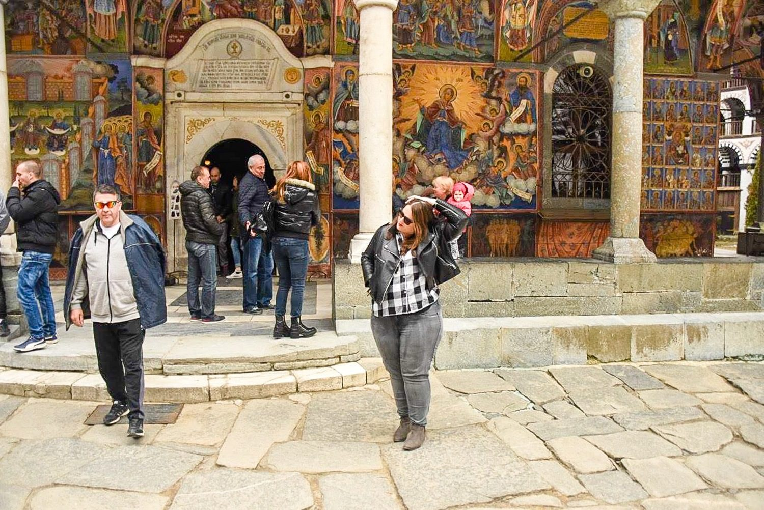 Rila Monastery, one of Bulgaria's UNESCO World Heritage Sites (and one of Stephanie's favorite buildings in the world)