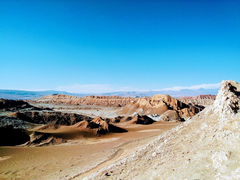 Another view of Chile's arid Atacama Desert.