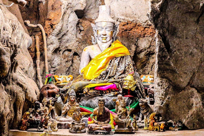 At Tham Khao Luang Cave, Thailand.