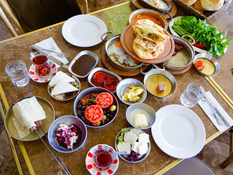Turkish breakfast: Chris's favorite!